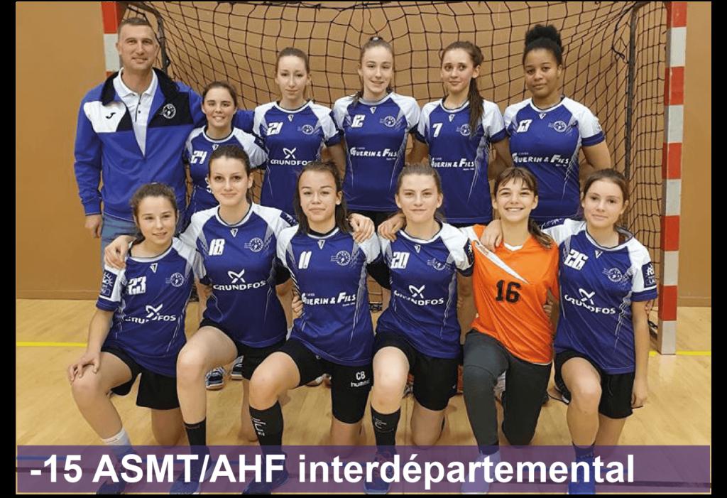 Entente Arcis Handball Féminin Sainte-Maure Handball Féminin -15