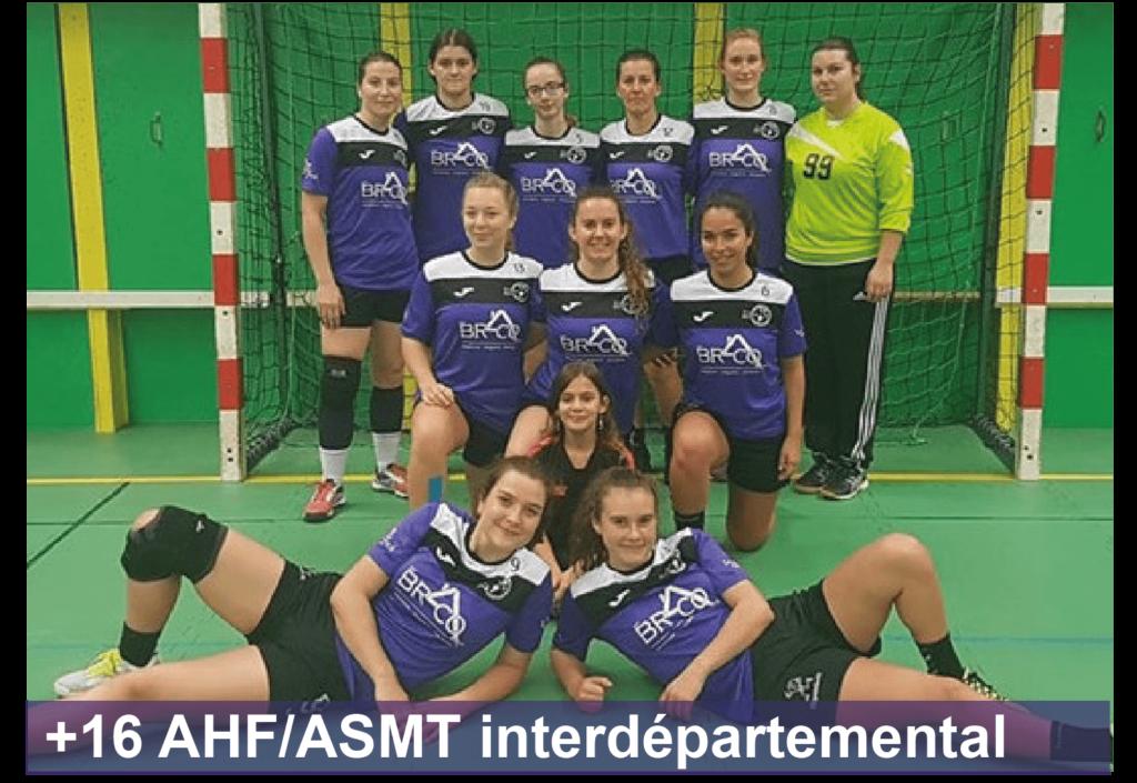 Entente Arcis Handball Féminin Sainte-Maure Handball Féminin senior