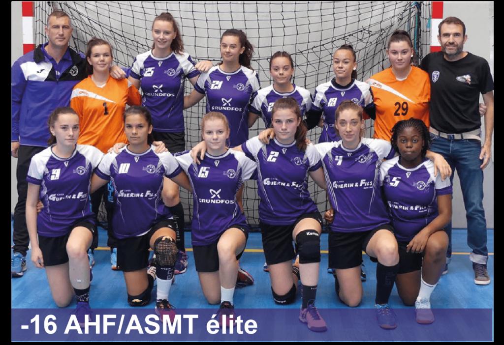 Entente Arcis Handball Féminin Sainte-Maure Handball Féminin -16