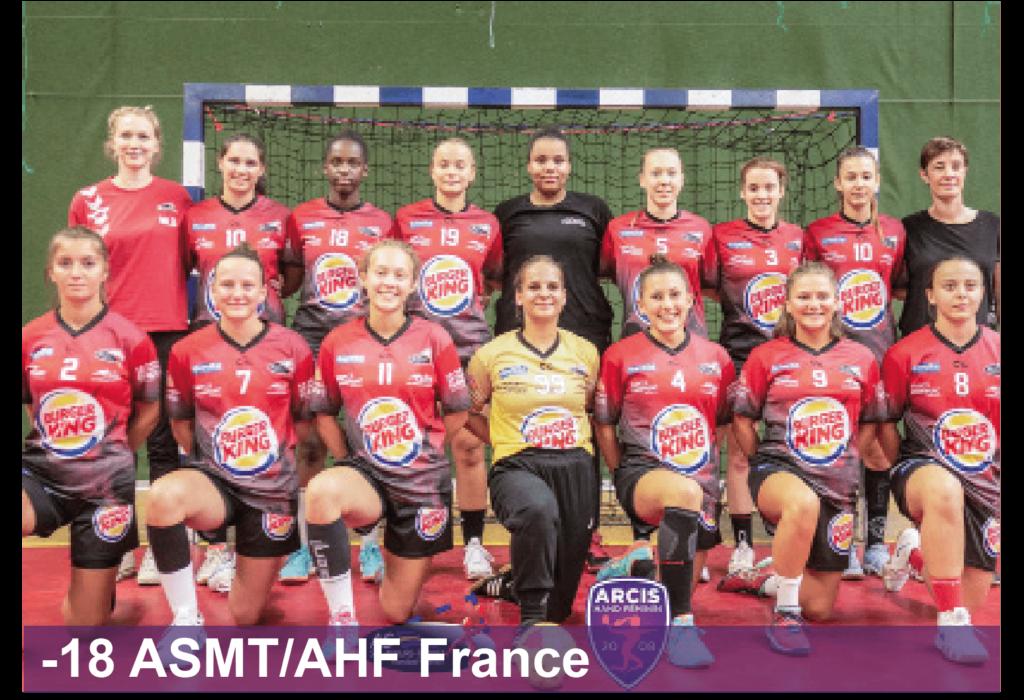 Entente Arcis Handball Féminin Sainte-Maure Handball Féminin -18 France