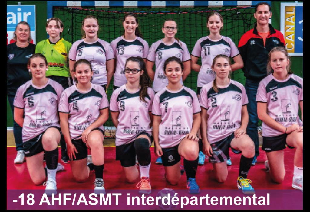 Entente Arcis Handball Féminin Sainte-Maure Handball Féminin -18